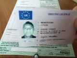 Acheter vrai permis de conduire français et anglais chez nous