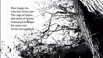 ODE ON SOLITUDE (Ode sulla Solitudine) - Francesco Basso - Work(in Class) in poetry - A. Pope