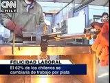 La felicidad laboral de los chilenos depende de la remuneración