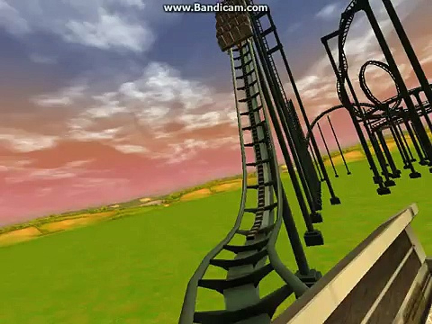 Rush EuroFighter Rollercoaster in Rct3