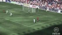 FIFA 09 Steven Gerrard Volley Goal