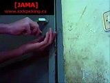 [JAMA] Lockpicking a LINCE C2 lock