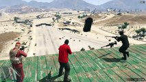 GTA Online Snipers vs. Stunters extreme luck