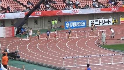 2015日本選手権 男子400mH予選~決勝