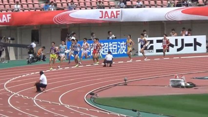 2015日本選手権 男子3000mSC決勝
