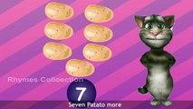 One Potato Two Potatos kids Nursery Rhymes - Animated Kids Songs - Rhymes With Lyrics