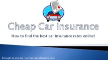 (Car Insurance Commercial 2010) - How To Find Car Insurance