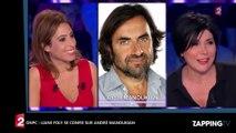 ONPC : Léa Salamé est-elle tombée sous le charme d'André Manoukian ? Elle se lâche sur le juré de la Nouvelle Star (Vidé