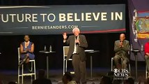 Sanders heckled about Jewish faith at New York rally
