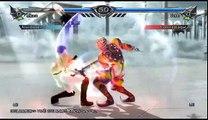 Soul Calibur V - Mikasa Ackerman (me) vs Voldo   Online matches