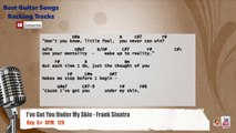 I've Got You Under My Skin - Frank Sinatra Vocal Backing Track with chords and lyrics