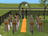 A sims 2 mini wedding
