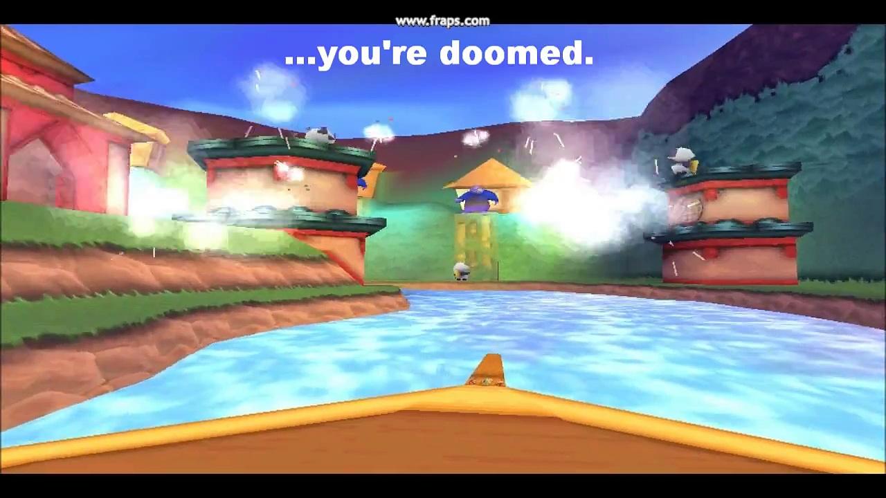 Spyro 3:  'invincibility glitch' – not so invincible