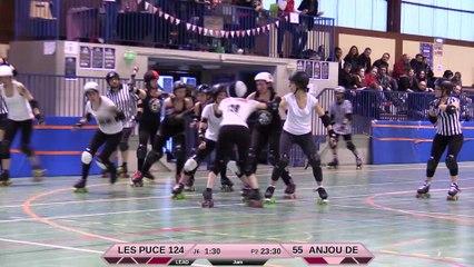 JAM DARK - HD -Les Puces'Hell vs Anjou Derby Girls 2e mi-temps