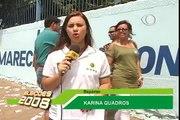 ELEIÇÕES 2008: EDVALDO OFICIALIZA O VOTO - TV BAND JI-PARANÁ