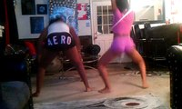 Tryna dance like the twerk team