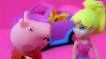 Peppa e Polly Comprando o Primeiro Carro Novelinha da Polly em Português - [Cap
