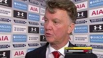 Tottenham 3-0 Man Utd: Van Gaal blames 'miscommunication' between defenders