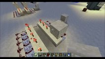 Minecraft - Tutorial: How To Make A Simple Automatic TNT Canon