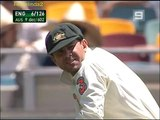Ponting's classic DROPPED catch + Bill Lawry hilarious commentary!2