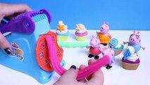Peppa Pig Play Doh Fun Factory Machine Peppa's Dough Set Hasbro Toys Juguetes de Plastilina Part 8