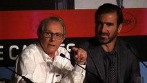 """""""A good actor"""" Ken Loach and Eric Cantona"""