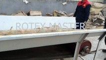 Rotex wood chipper machine