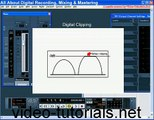 Recording mixing  mastering  Digital Clipping Cubase 3 4 pro tools ProTools 7