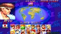 Hyper Street Fighter II: The Anniversary Edition - Ryu vs Ken Masters - PlayStation 2 - HD