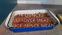 Shepherds Pie | Leftover Potato and Meat Sauce (Mince Meat)