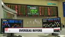 Foreign investors turn into net buyers of Korean stocks in March