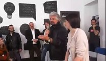 """Beppe Grillo a #Torino """"Quando mi ero iscritto al pd..."""" - MoVimento 5 Stelle"""
