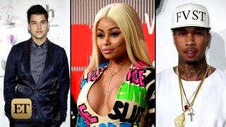 Tyga Reacts to Blac Chyna and Rob Kardashians Engagement Eve
