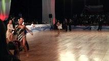 Tishkin Leonid - Sharanova Ekaterina, Rozhkov Sergei - Zakharova Marina, cha-cha-cha