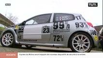 Rallye Charbonnières: des élèves préparent une voiture