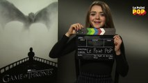 L'interview récré de Maisie Williams alias Arya Stark dans Game of Thrones