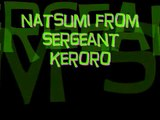 natsumi from sergeant keroro requested by karloxsubzero