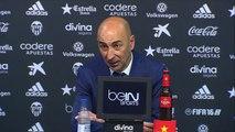 Rueda de prensa de Pako Ayestarán tras el Valencia CF (2-1) Sevilla FC