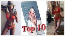 Top 10 des plus belle candidates de télé-réalité en bikini