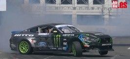 Ford Mustang RTR: Vaughn Gittin Jr. se lo pasa de miedo