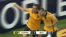 Rosario Central vs Vélez Sarsfield (2-3) 10/04/16 - todos los goles resumen