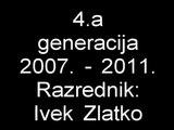 Elektrotehničari 2007 - 2011 (4.a) [Elektrostrojarska škola Varaždin] Short (School) Version