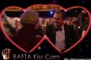 Leonardo DiCaprio Dame Maggie Smith Kiss Cam 2016