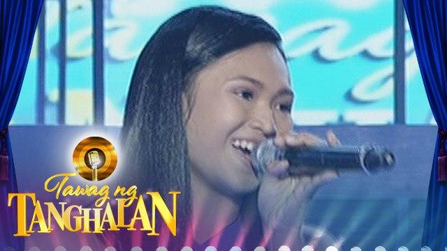 """Tawag ng Tanghalan: Rigel Micolob - """"Chasing Pavements"""""""