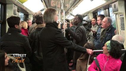 En route vers la finale : Saïfa découvre le métro parisien