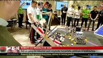 O echipă de liceeni români cuceresc lumea cu roboţii construiţi într-un garaj din Voluntari. S-au întors recent din Coreea de Sud și din Rusia cu medaliile de aur, acum se pregătesc să plece în Germania, Olanda și SUA