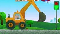 Dessin animé 3D pour léveil denfants. Différentes types de voitures.