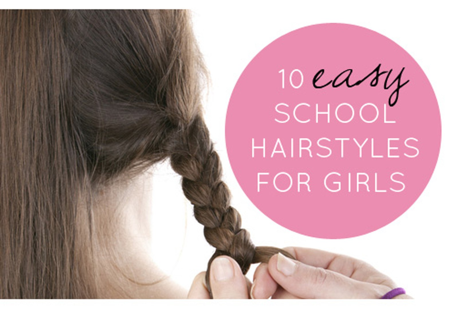 10 EASY School Newly Hairstyles! Short & Long -10 Quick & Easy Everyday  Hairstyles