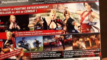 Unboxing Dead or Alive 5 Ultimate DOA DOAU Tecmo Koei Sony playstation 3 PS3 Kasumi Ryu Ay