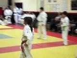 Représentation des ceintures de couleurs - Fête du Judo Club Mazamet 2012